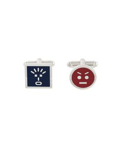 Fendi | Faces Cufflinks Mens Brass