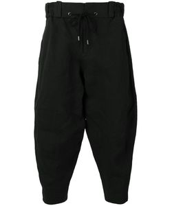 Devoa | Cropped Trousers Mens Size 3 Polyester/Japanese Paper
