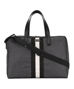 Bally | Striped Holdall Nylon/Leather