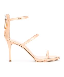 Giuseppe Zanotti Design | Harmony Sandals Womens Size 37.5 Leather/Camel Leather