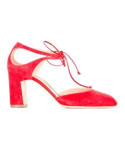 Rupert Sanderson   Clarissa Pumps Womens Size 37 Suede/Leather