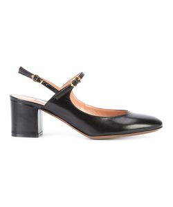 L'Autre Chose | Double Strap Pumps Womens Size 39 Leather
