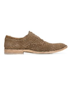 Officine Creative | Interlaced Derbies Mens Size 42 Horse Leather/Leather