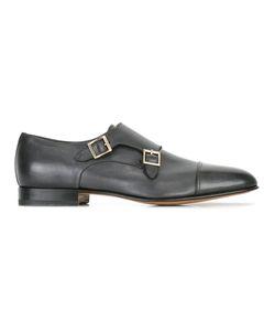 Santoni | Classic Monk Shoes Mens Size 42.5 Leather