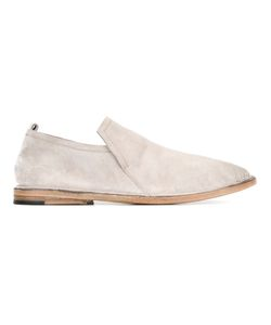 Marsèll | Distressed Loafers Mens Size 41 Calf Leather/Calf Suede/Leather