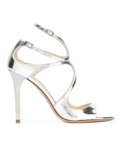 Jimmy Choo | Lance Sandals Womens Size 37.5 Leather