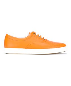 Tomas Maier | Malib Palms Sneakers Womens Size 37 Calf Leather/Rubber/Leather