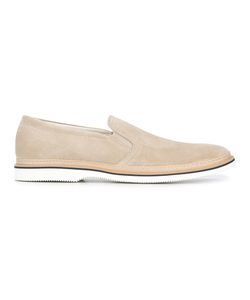 Hogan | Plain Slippers Mens Size 8.5 Suede/Leather/Rubber