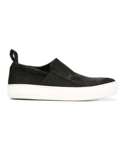 The Last Conspiracy | Slip-On Sneakers Mens Size 40 Leather/Rubber