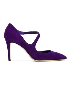 Jimmy Choo | Davos 85 Pumps Womens Size 39 Suede/Leather