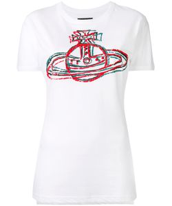 Vivienne Westwood Anglomania | Logo Print T-Shirt Womens Size Xs Cotton