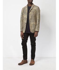 Uma Wang | Scale Print Blazer Size Large Cotton