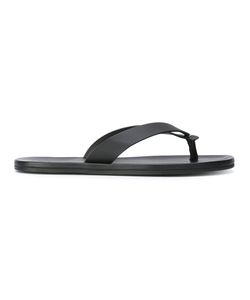 Lanvin | Classic Flip Flops Mens Size 10 Calf Leather/Rubber