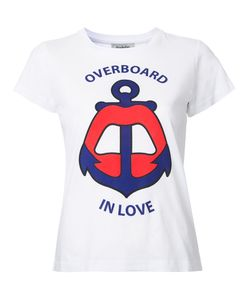 Yazbukey | Overboard In Love T-Shirt Womens Size Medium Cotton