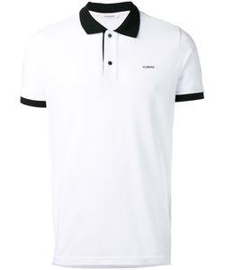 Iceberg | Rear Print Polo Shirt Size Medium Cotton