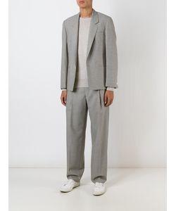 E. Tautz | One Button Blazer Mens Size 38 Wool/Viscose