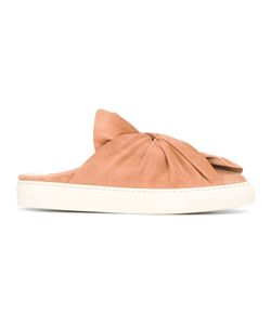 Ports   1961 Slip-On Knot Sneakers Womens Size 38 Suede/Rubber/Leather