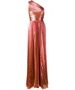 Maria Lucia Hohan | One-Shoulder Gown Womens Size 34 Polyester/Silk