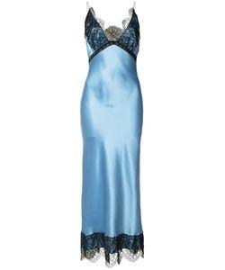 Natasha Zinko   Lace Detail Dress Womens Size 32 Silk