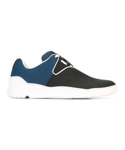 Dior Homme   Lace-Up Sneakers Mens Size 42 Cotton/Calf Leather/Leather/Rubber