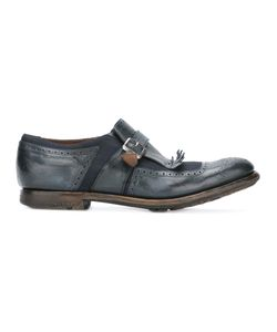 Church's | Strap Brogues Mens Size 10 Leather/Rubber