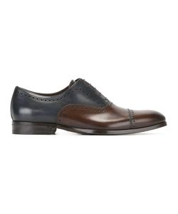 Canali | Colour Block Oxford Shoes Mens Size 43 Leather/Rubber