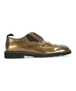 Dolce & Gabbana | Brogues Mens Size 41.5 Leather/Patent Leather/Rubber