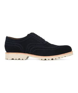 Grenson | Stanley Brogues Mens Size 10 Suede/Leather/Rubber