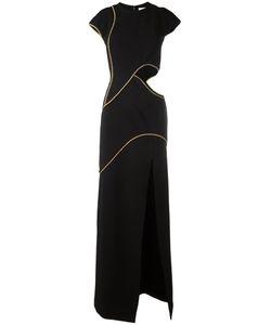 Mugler | Cut Out Dress Womens Size 38 Polyester/Acetate/Viscose