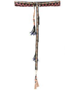 Etro | Tassel Belt Womens Size Large Cotton/Metal