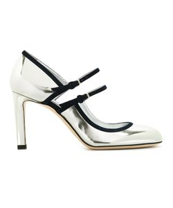 Jimmy Choo | Mary Jane Pumps Womens Size 38 Leather