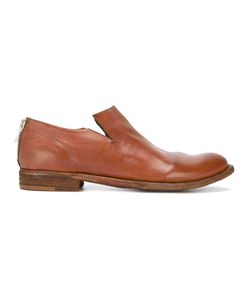 Officine Creative   Minimal Low-Heel Loafers Womens Size 39 Leather