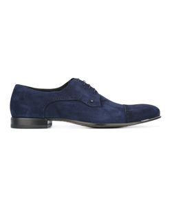 FABI | Stitching Detail Derbies Mens Size 43.5 Calf Suede/Leather/Rubber