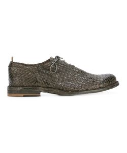 Officine Creative | Woven Lace Up Shoes Mens Size 41 Leather