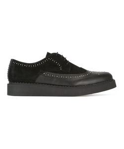 Diesel | Daser Brogues Mens Size 41 Calf Leather/Leather/Rubber