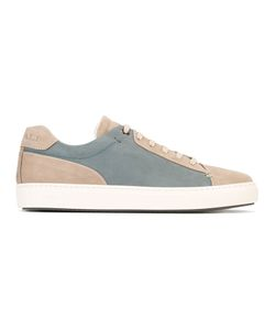 Canali | Colour Block Sneakers Mens Size 42.5 Leather/Rubber