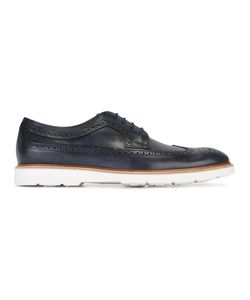 Tod's | Ridged Sole Brogues Mens Size 43 Calf Leather/Leather/Rubber