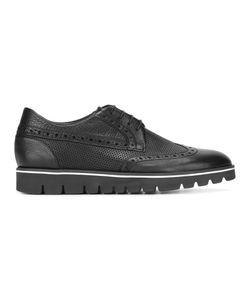 Baldinini | Platform Brogues Mens Size 43.5 Calf Leather/Rubber/Leather