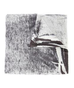 Label Under Construction | Bleach Effect Scarf Adult Unisex Cotton