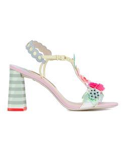 Sophia Webster | Embellished Lilico Sandals Womens Size 38.5 Leather