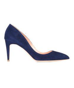 Rupert Sanderson   Nada Pumps Womens Size 38 Suede/Leather