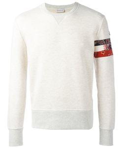 Moncler | Bandana Panel Sweatshirt Mens Size Large Cotton