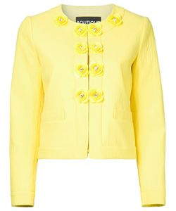 Boutique Moschino | Buttons Jacket Womens Size 44 Cotton/Other Fibres