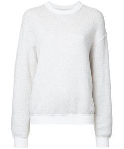 Julien David | Plain Sweatshirt Womens Size Small Cotton