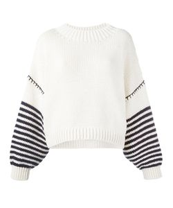 Sportmax | Dropped Shoulder Jumper Womens Size Large Cotton/Polyamide