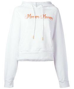 Off-White | Mirror Mirror Hoodie Womens Size Medium Cotton