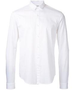 Wooyoungmi | Buttoned Shirt Mens Size 46 Cotton/Linen/Flax