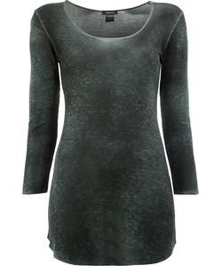 Avant Toi | Washed Effect Jumper Womens Size Xs Viscose