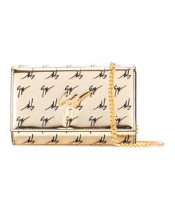 Giuseppe Zanotti Design | Logo Print Clutch Womens Polyurethane/Patent Leather