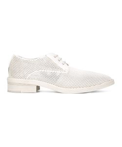 Marsèll | Perforated Allover Lace-Up Shoes Womens Size 38.5 Nappa Leather/Leather